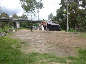 Asentamientos irregulares en canal de chalco