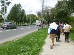 Caminata Xochimilco Periférico