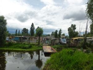 Asentamientos irregulares en Cuemanco