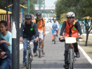 Rodada organizada por enchúlame la bici