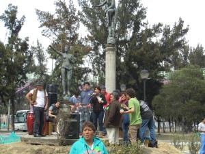 Organizaciones vecinales de Iztapalapa preocupados ante el daño de su patrimonio